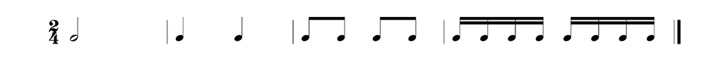 Simple Musical Forms in Their Most Simple Form