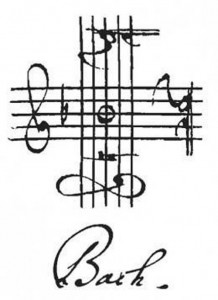 bach-signature-in-4-clefs by .
