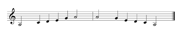 pentatonic minor scale